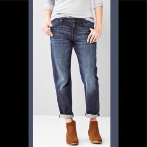 American Eagle Boy Fit Cropped Jeans.